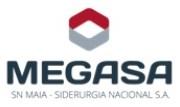 MEGASA - SN MAIA - SIDERURGIA NACIONAL