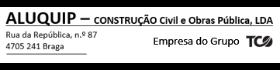 ALUQUIP - IMOBILIÁRIA E EQUIPAMENTOS, UNIPESSOAL L