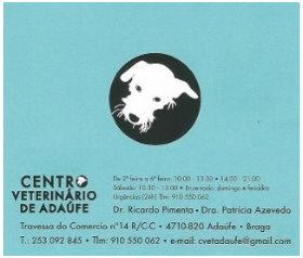 Centro veterinário de adaufe